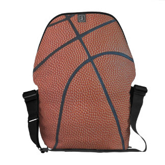 Team Spirit_Basketball texture look_Hoops Lover Courier Bag