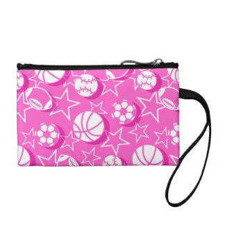 Team sports girls coin purse