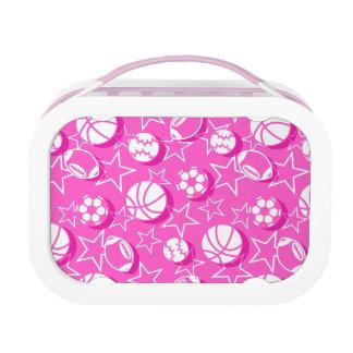 Team sports girls lunch box