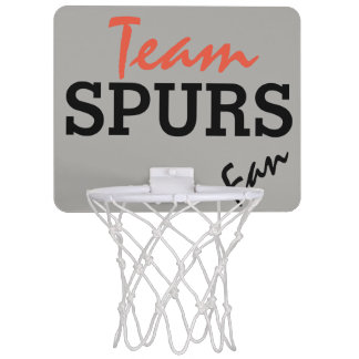Team Spur fan Mini Basketball Hoop