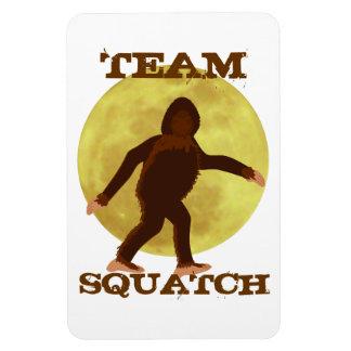 Team Squatch Moonlight Bigfoot Magnet Vinyl Magnet