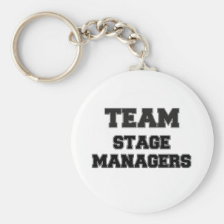 Team Stage Managers Key Ring
