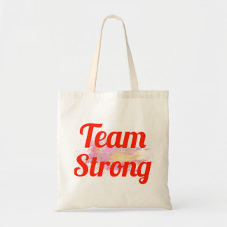 Team Strong Tote Bags