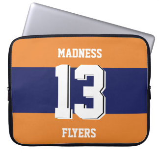 Team style drawing laptop sleeve