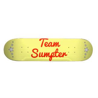 Team Sumpter Skate Board