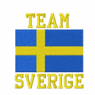 Team Sverige Swedish Sports Embroidered Hoodies