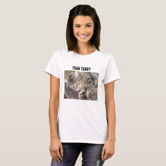 Team Tabby Cat Shirt