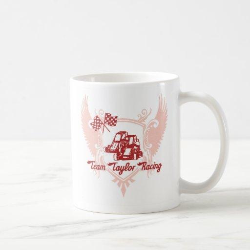 Team Taylor Racing Coffee Mug in Red