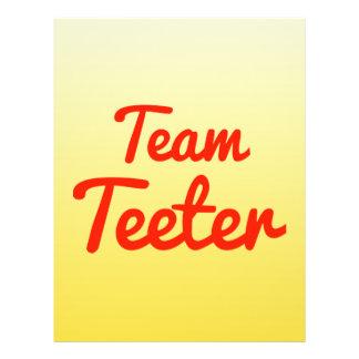 Team Teeter Flyers