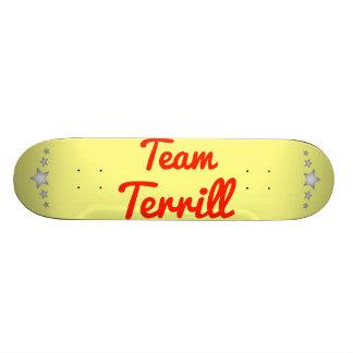 Team Terrill Skate Decks