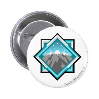 Team Terror Mountain Logo 6 Cm Round Badge