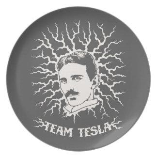 Team Tesla Dinner Plate