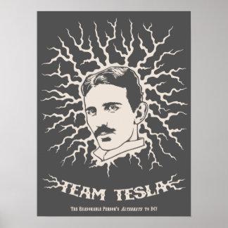 Team Tesla Poster