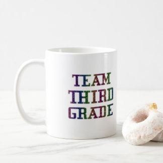 Team Third Grade, Back To School Gift Coffee Mug