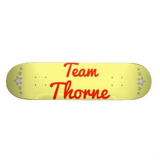 Team Thorne Custom Skate Board