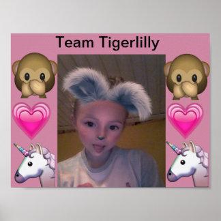 Team Tigerlilly poster