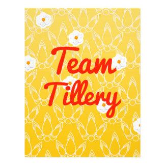 Team Tillery Full Color Flyer