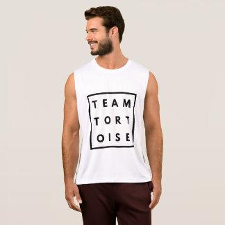 Team Tortoise Funny Mens Running Vest Singlet