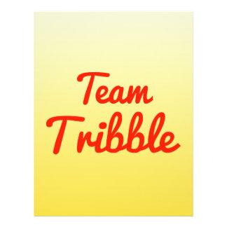 Team Tribble Full Color Flyer