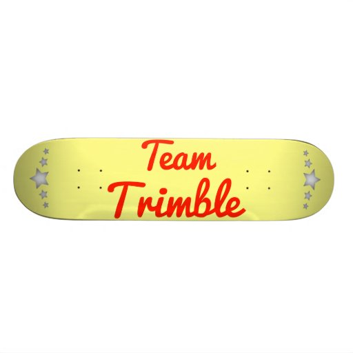 Team Trimble Custom Skateboard