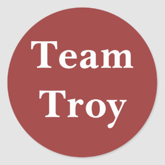 Team Troy sticker