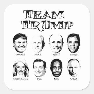 Team Trump - Trump Team Square Sticker