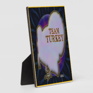 Team Turkey Plaque