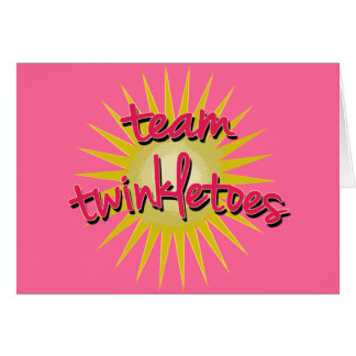 Team Twinkletoes with Starburst Greeting Cards