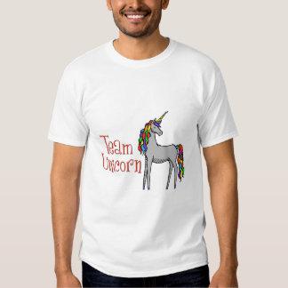Team Unicorn Rainbow T-shirts