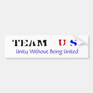 TEAM US bumper sticker