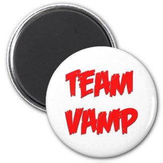 Team Vamp 6 Cm Round Magnet