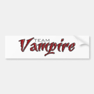 Team Vampire Bumper Stickers