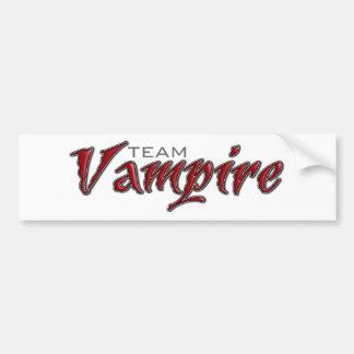 Team Vampire Bumper Sticker