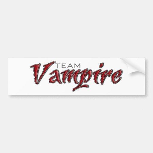 Team Vampire Bumper Stickers