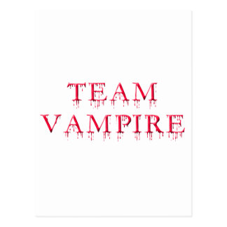 Team Vampire Postcard