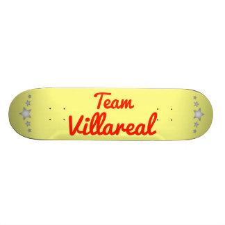 Team Villareal Skate Board