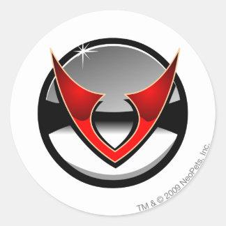 Team Virtupets Space Station Logo Round Sticker