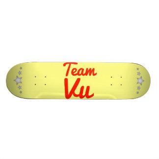 Team Vu Skate Board Decks