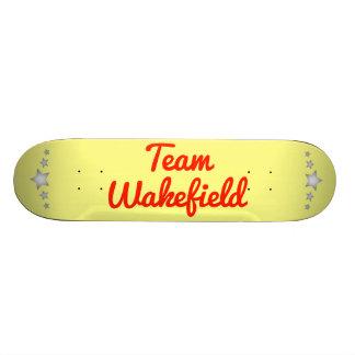 Team Wakefield Skate Deck