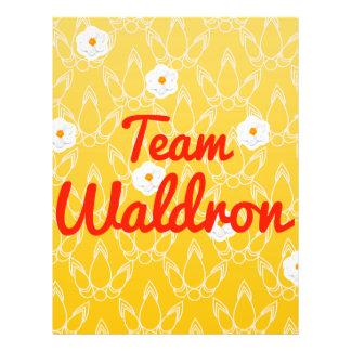 Team Waldron Full Color Flyer