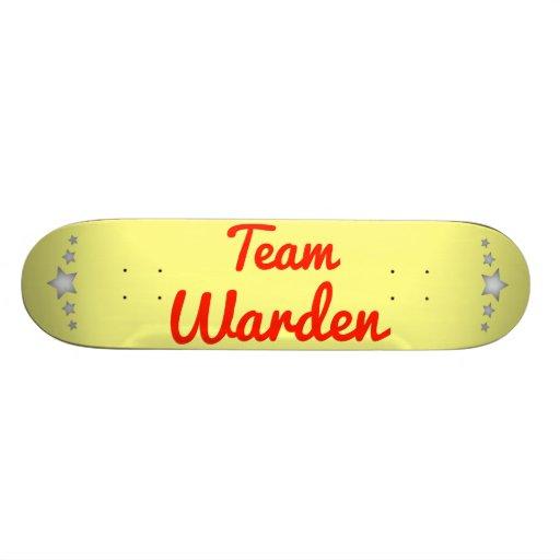 Team Warden Skate Decks