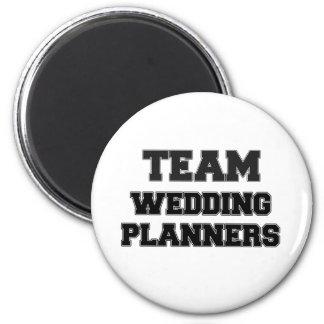 Team Wedding Planners 6 Cm Round Magnet