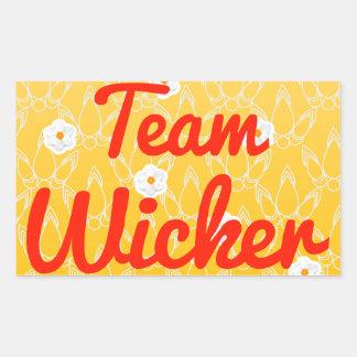 Team Wicker Stickers