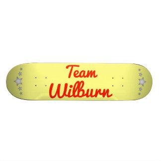 Team Wilburn Custom Skate Board