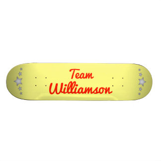 Team Williamson Skate Board