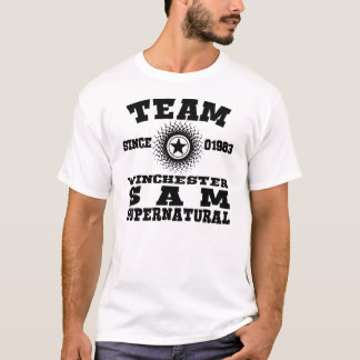 TEAM WINCHESTER SUPERNATURAL 1983 T-Shirt