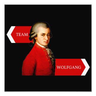 Team Wolfgang. Wolfgang Amadeus Mozart fan Photograph