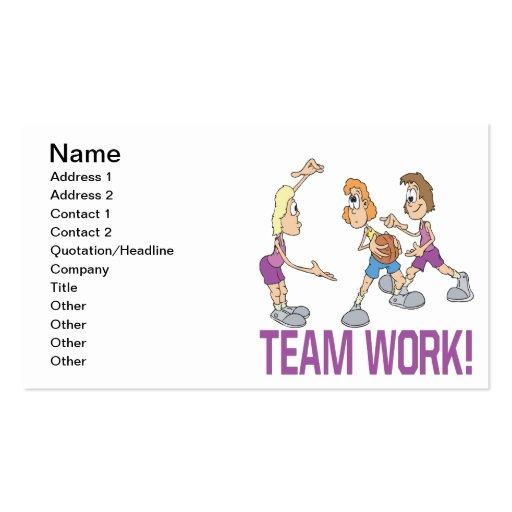 Team Work Business Card