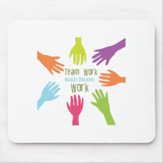 Team Work Mouse Pad