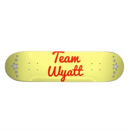 Team Wyatt Custom Skateboard